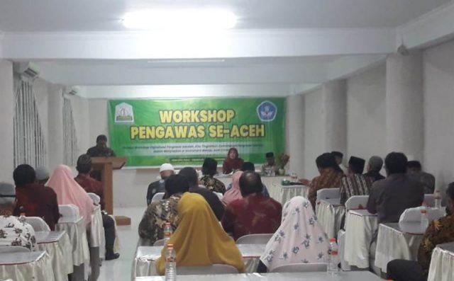 Workshop Digitalisasi Pengawas Sekolah di Kabupaten Aceh Selatan. (Foto/Faisal)