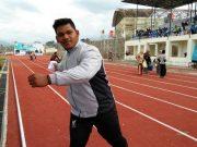 M. Rifandi atlet atletik nomor lempar cakram dan tolak peluru, Aceh Besar. (Foto/Ist)