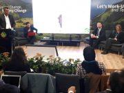 Wakil Bupati Pidie, Fadhlullah TM Daud, ST, saat berbicara pada acara Konferensi Internasional Perubahan Iklim, Conference of Party (COP) ke 24 di Katowice, Polandia, Kamis (6/12/2018).