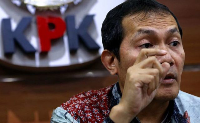 Wakil Ketua KPK (Komisi Pemberantasan Korupsi), Saut Situmorang. (Kolaborasi/Ist)