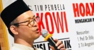 Koordinator Nasional Tim Pembela Jokowi (TPJ) H. Nazaruddin Ibrahim. (Foto/Ist)