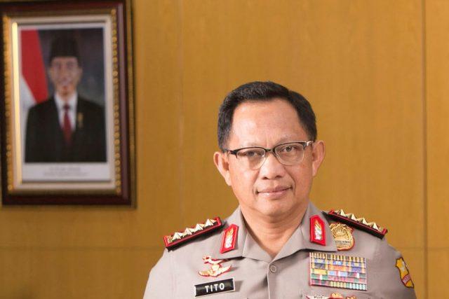 Kapolri Jenderal Polisi Tito Karnavian. (Foto/Ist)