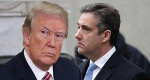 Donald Trump dan mantan pengacara pribadinya, Michael Cohen. (Foto/Ist)