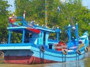 Kapal yang mengangkut narkotika, diamankan BNN dan Bea Cukai dalam suatu operasi di perairan Aceh Utara. (Foto/Ist)