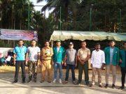 Panitia Turnamen Volly yang dilaksanakan oleh mahasiswa KKN Unsyiah di Kecamatan Panga, Selasa, 29/1/2019. (Foto/zammil)